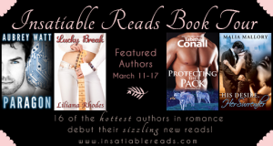 Insatiable Reads Tour march 11-17