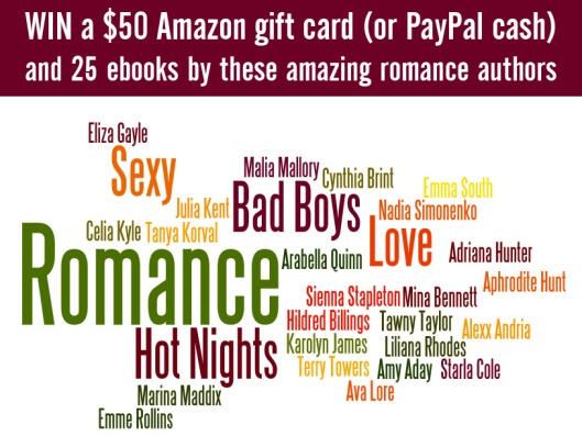 25 Romance Author Giveaway including Liliana Rhodes