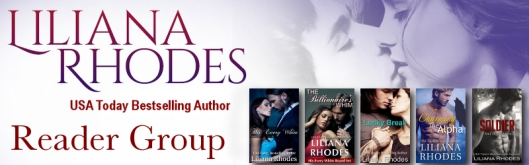 Click to join the Liliana Rhodes Reader Group on Facebook