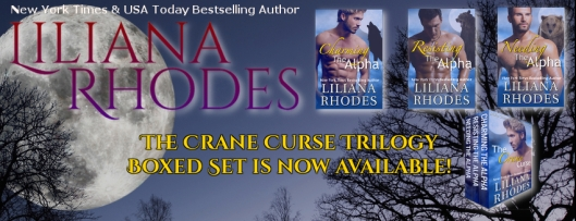 The Crane Curse trilogy by Liliana Rhodes