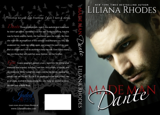 Made Man Dante paperback by Liliana Rhodes